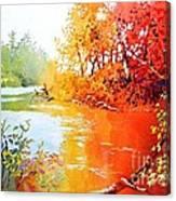 Lakescene 1 Canvas Print