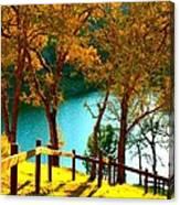 Lakeshore Lane Canvas Print