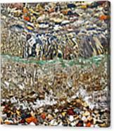 Lakeshore Rocks 2 Canvas Print