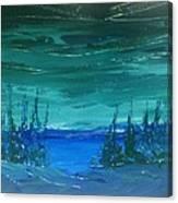 Lakeside Dusk No. 2 Canvas Print