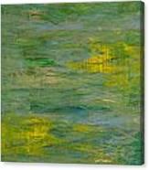Lakeside Sun Canvas Print