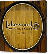 Lakewood Vineyards Canvas Print