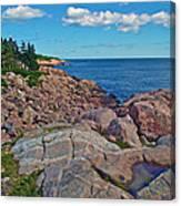 Lakies Head In Cape Breton Highlands Np-ns Canvas Print