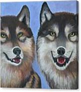 Lakota And Arapaho Canvas Print