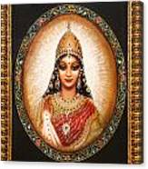 Lakshmi Goddess Of Abundance Canvas Print