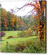 Lamance Valley In The Fall Canvas Print