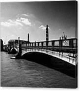 lambeth bridge over the river thames central London England UK Canvas Print