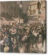 Lambeth Market Canvas Print