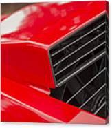 Lamborghini Countach Intake Canvas Print