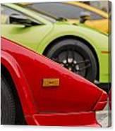 Lamborghini Countach Nose Canvas Print