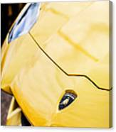 Lamborghini Hood Emblem -1661c Canvas Print