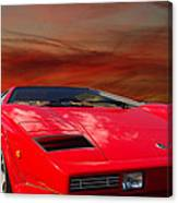 Lamborghini Starting Dream Canvas Print