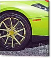 Lamborghini Verde  Canvas Print