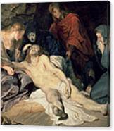 Lament Of Christ Canvas Print