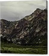 Lamoille Canyon End Canvas Print
