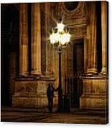 Lamp Light Canvas Print