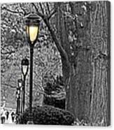 Lamp Lite Canvas Print