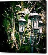 Lamp Post Canvas Print