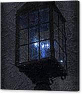 Lamp Post Blues Canvas Print