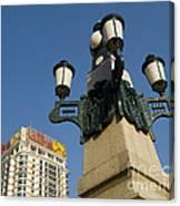 Lamp Post, China Canvas Print