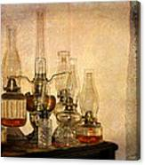 Lamps And Lace Canvas Print