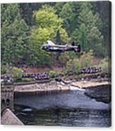 Lancaster Bomber 70th Anniversary Flypast Canvas Print