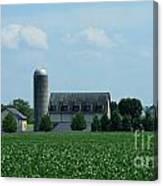 Lancaster Co Farm   # Canvas Print