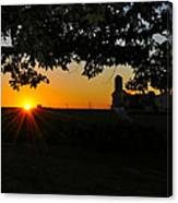 Lancaster County Morning Canvas Print