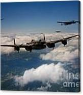 Lancaster Formation  Canvas Print