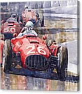 Lancia D50 Monaco Gp 1955 Canvas Print
