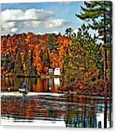 Land Of Lakes Canvas Print