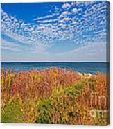 Land Sea Sky Canvas Print