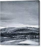 Land Shapes 11 Canvas Print