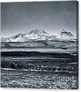Land Shapes 7 Canvas Print