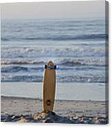 Land Surf Board Canvas Print