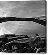 Landscape Arch Panoramic Canvas Print