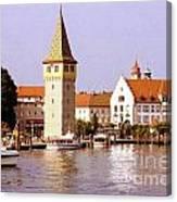Landau Waterfront Canvas Print