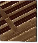 Landing Strips Canvas Print