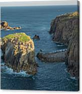 Lands End Cornwall Canvas Print