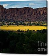 Landscape 22 E Los Alamos Nm Canvas Print