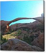 Landscape Arch 2 Canvas Print