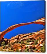 Landscape Arch Canvas Print
