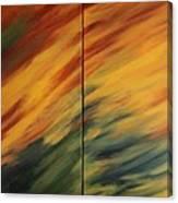Landscape - Diptych Canvas Print