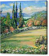 Landscape From Kavran Canvas Print