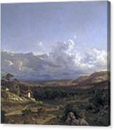 Landscape In Dauphine Canvas Print