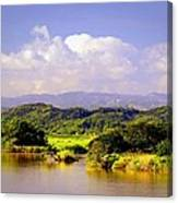 Landscape In Puerto Rico. Canvas Print