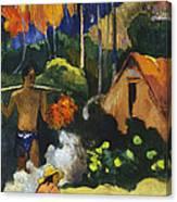 Landscape In Tahiti.mahana Maa Canvas Print