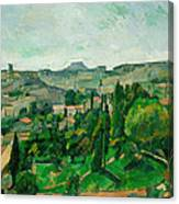 Landscape In The Ile-de-france Canvas Print