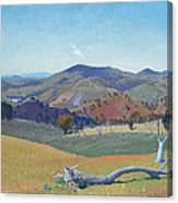 Landscape Near Yass Canvas Print