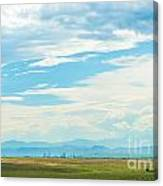 Landscape Of Denver Colorado Canvas Print